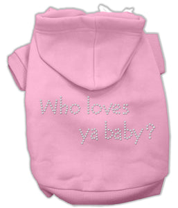 Who Loves Ya Baby? Hoodies
