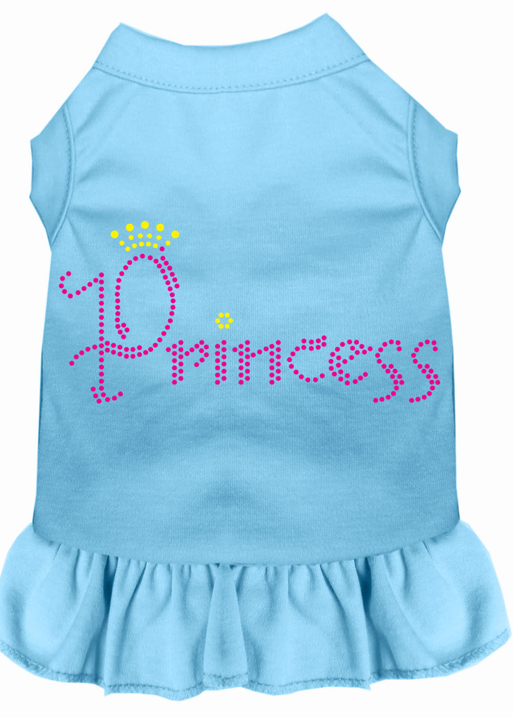 Princess Rhinestone Dress Baby Blue