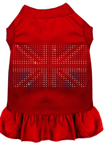Rhinestone British Flag Dress