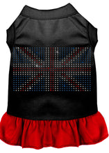 Load image into Gallery viewer, Rhinestone British Flag Dress
