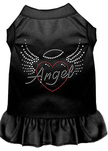 Angel Heart Rhinestone Dress Black