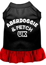 Load image into Gallery viewer, Aberdoggie Uk Dresses Black With