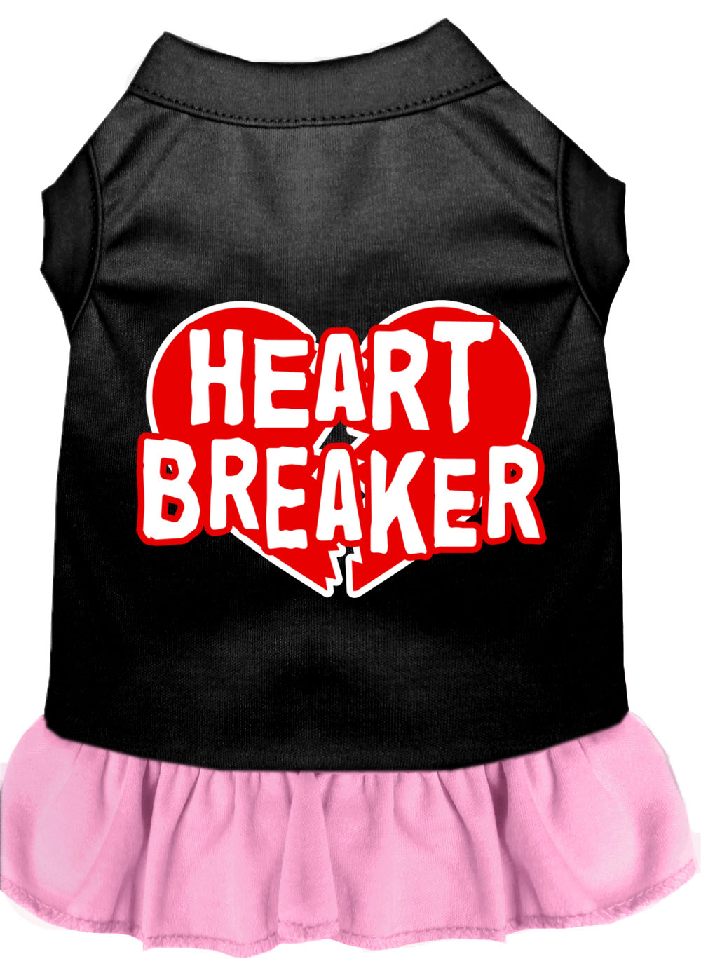 Heart Breaker Dresses Black With Light Pink