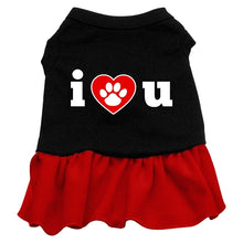 Load image into Gallery viewer, I Heart You Dresses Black With