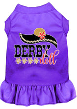 Load image into Gallery viewer, Derby Doll Screen Print Dog Dress