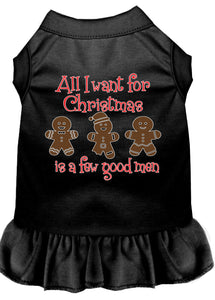 All I Want Is A Few Good Men Screen Print Dog Dress