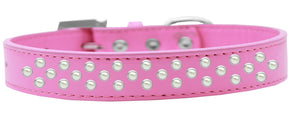 Sprinkles Dog Collar Pearls Size