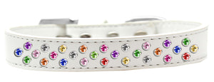 Sprinkles Dog Collar Confetti Crystals Size