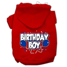 Load image into Gallery viewer, Birthday Boy Screen Print Pet Hoodies Size