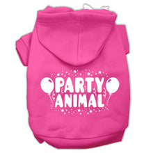 Load image into Gallery viewer, Party Animal Screen Print Pet Hoodies Size