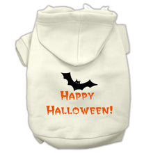 Load image into Gallery viewer, Happy Halloween Screen Print Pet Hoodies