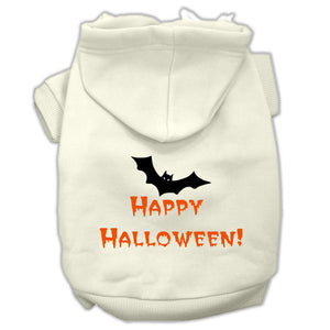 Happy Halloween Screen Print Pet Hoodies