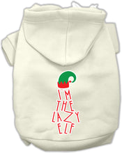 Load image into Gallery viewer, Lazy Elf Screen Print Pet Hoodie