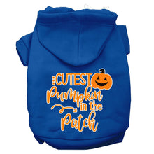 Load image into Gallery viewer, Cutest Pumpkin In The Patch Screen Print Dog Hoodie