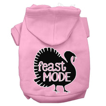 Load image into Gallery viewer, Feast Mode Screen Print Dog Hoodie
