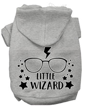 Load image into Gallery viewer, Little Wizard Screen Print Dog Hoodie