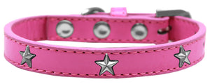 Silver Star Widget Dog Collar Size