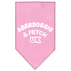 Aberdoggie Uk Screen Print Bandana