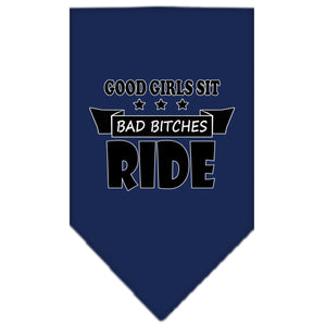 Bitches Ride Screen Print Bandana