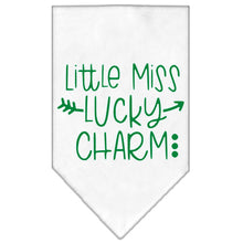 Load image into Gallery viewer, Little Miss Lucky Charm Screen Print Bandana