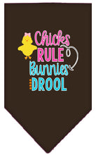 Load image into Gallery viewer, Chicks Rule Screen Print Bandana