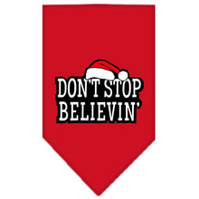 Load image into Gallery viewer, Dont Stop Believin Screen Print Bandana