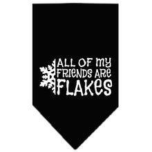 Load image into Gallery viewer, All My Friends Are Flakes Screen Print Bandana