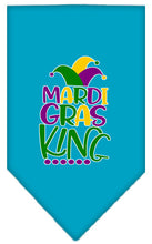 Load image into Gallery viewer, Mardi Gras King Screen Print Mardi Gras Bandana