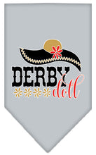 Load image into Gallery viewer, Derby Doll Screen Print Bandana
