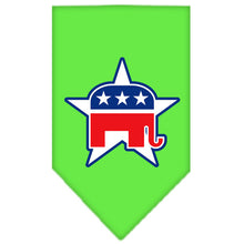 Load image into Gallery viewer, Republican Screen Print Bandana