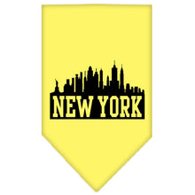 Load image into Gallery viewer, New York Skyline Screen Print Bandana
