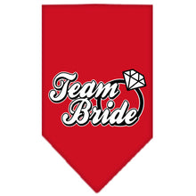 Load image into Gallery viewer, Team Bride Screen Print Bandana