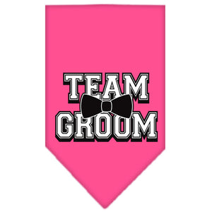 Team Groom Screen Print Bandana