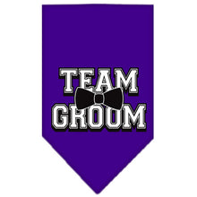Load image into Gallery viewer, Team Groom Screen Print Bandana