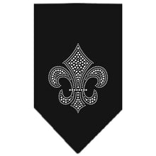Load image into Gallery viewer, Fleur De Lis Rhinestone Bandana