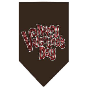 Happy Valentines Day Rhinestone Bandana
