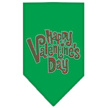 Load image into Gallery viewer, Happy Valentines Day Rhinestone Bandana