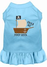 Load image into Gallery viewer, Poop Deck Embroidered Dog Dress