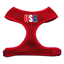 Load image into Gallery viewer, Usa Star Screen Print Soft Mesh Harness