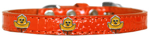 Chickadee Widget Croc Dog Collar