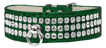 Load image into Gallery viewer, Style #73 Rhinestone Designer Croc Dog Collar