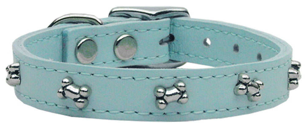 Bone Leather Baby Blue