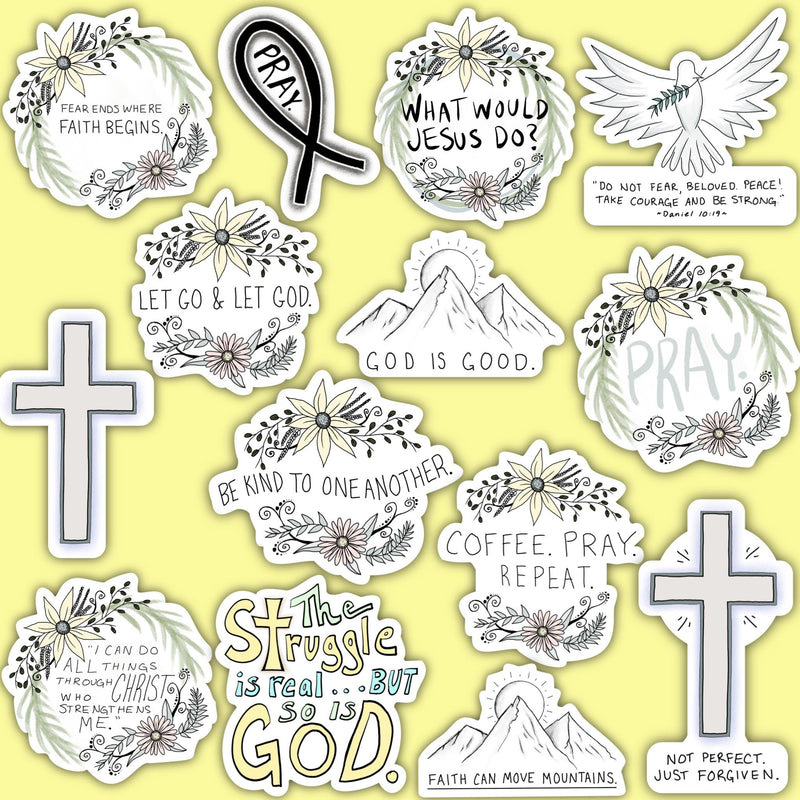 Faith Sticker 14 Pack