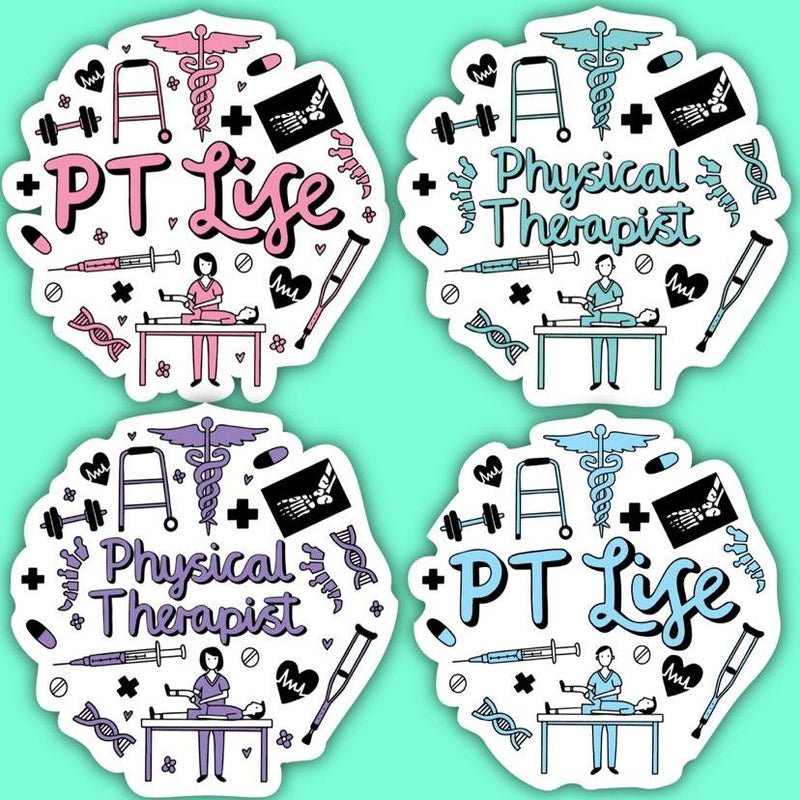 Physical Therapist Sticker Pack