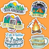 Outdoor & Nature Sticker 6 Pack
