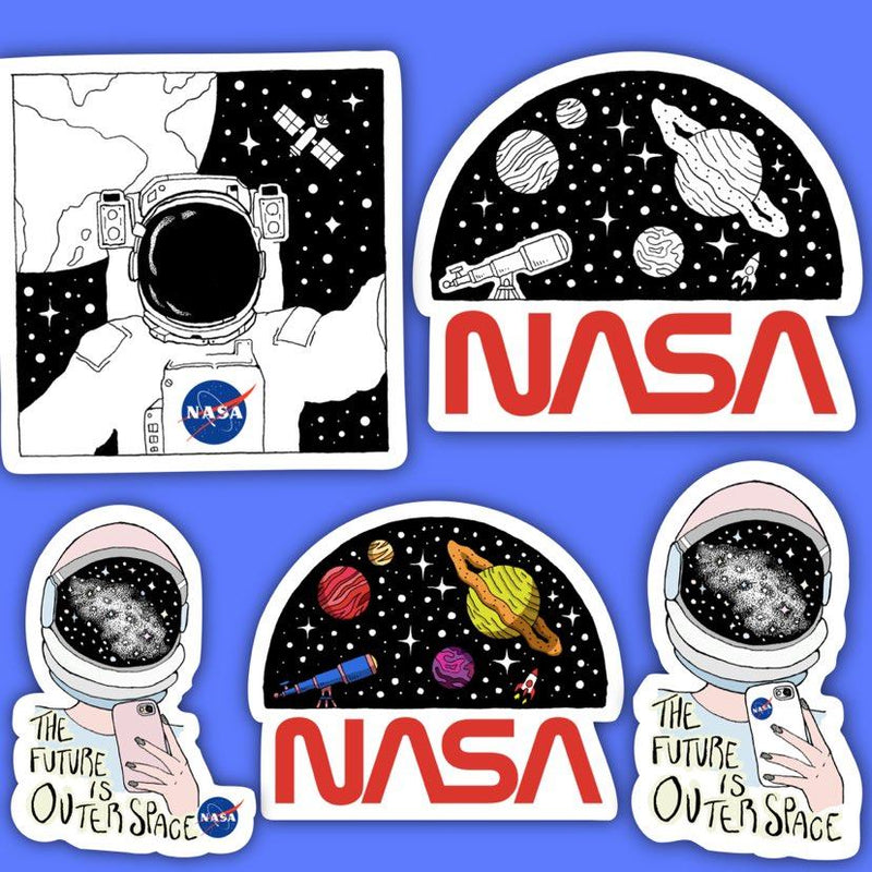 NASA Sticker 5 Pack