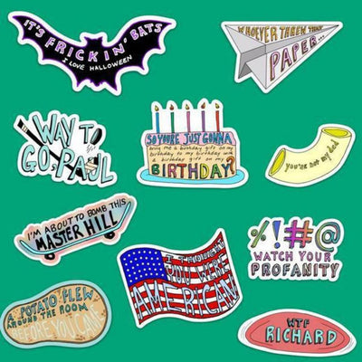 Vine Sticker 10 Pack NEW