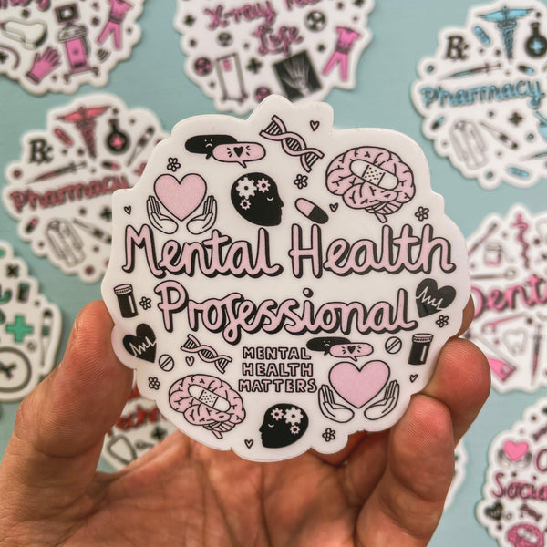 Mental Health Professional Sticker