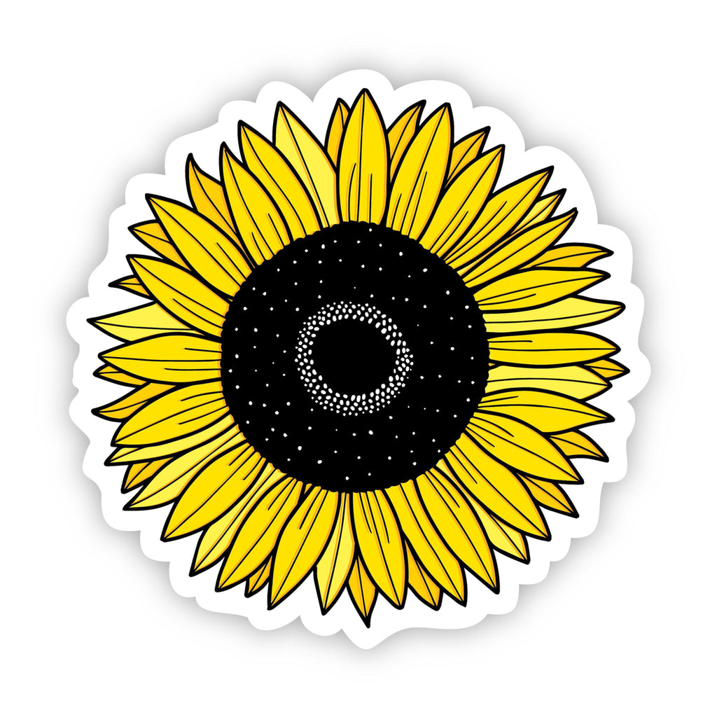 Sunflower Yellow Aesthetic Sticker