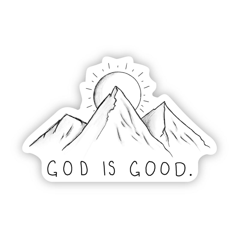 God is Good - Mountains